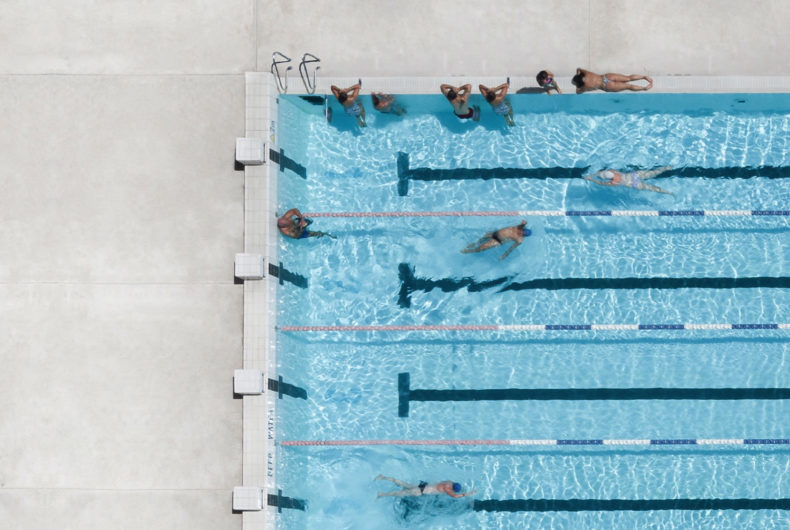 Pools From Above, the photographic series by Brad Walls
