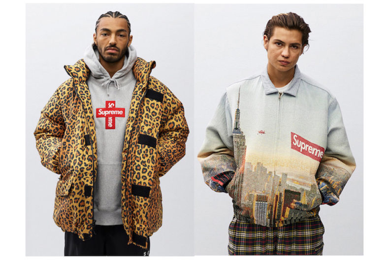 Il lookbook Fall/Winter 2020 di Supreme