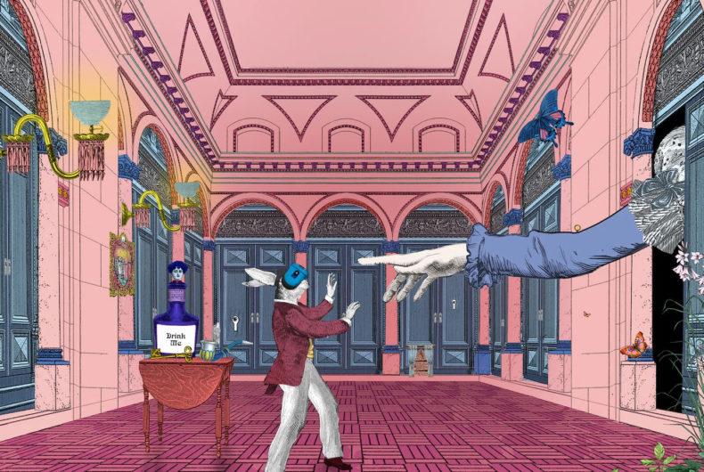 La mostra in VR dedicata ad Alice in Wonderland