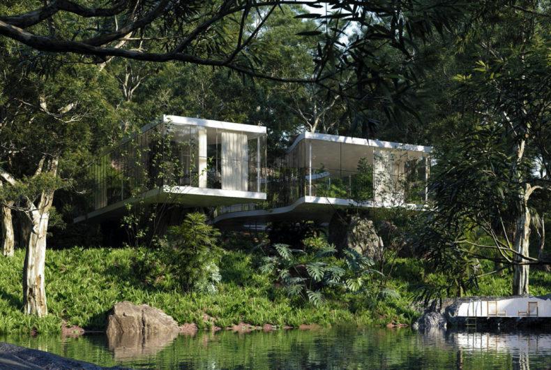 Casa Atibaia, un'abitazione modernista nascosta nella foresta