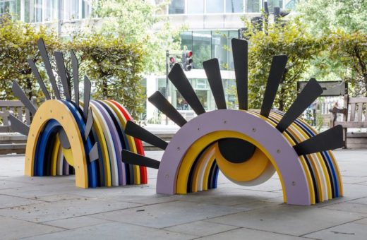 """City Benches"", le nuove panchine di Londra"