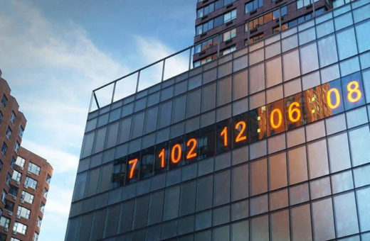 Climate clock, the countdown of the world