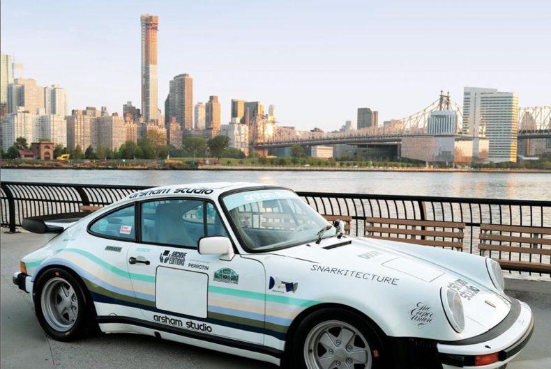 La Porsche 911 Turbo di Daniel Arsham