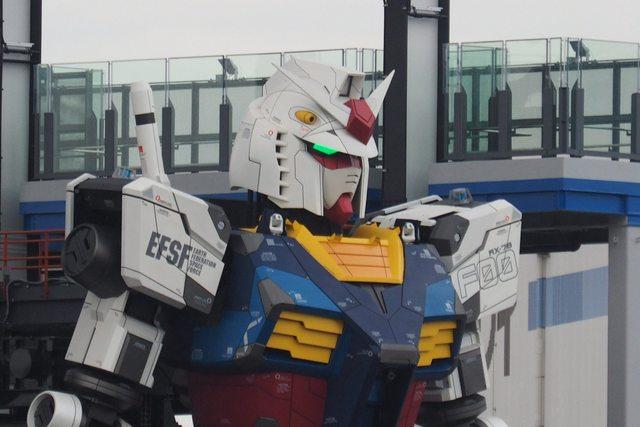 Giappone: il robot di Gundam ha mosso i suoi primi passi