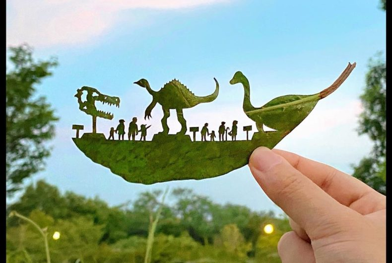 Lito Leaf, from a leaf to a work of art