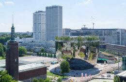 MVRDV designed a mirror building in Rotterdam