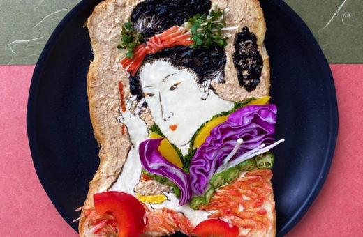 I toast artistici di Manami Sasaki