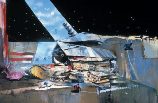 Tra arte contemporanea e graffiti, le tele di Marcus Jansen