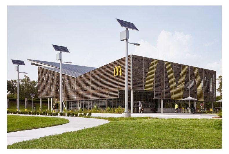 Il nuovo ristorante sostenibile di Mc Donald's in Florida