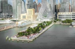 """Pier 97"", a new park on the banks of the Hudson River"
