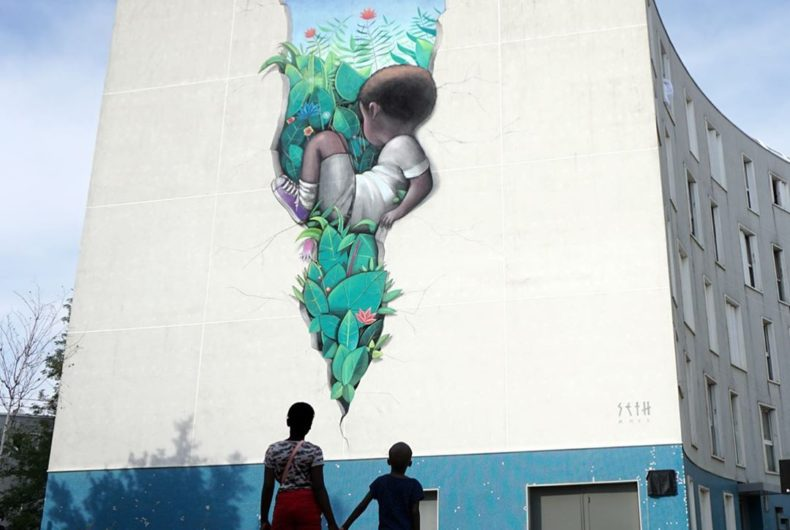 """There was a fault"" di Seth Globepainter"