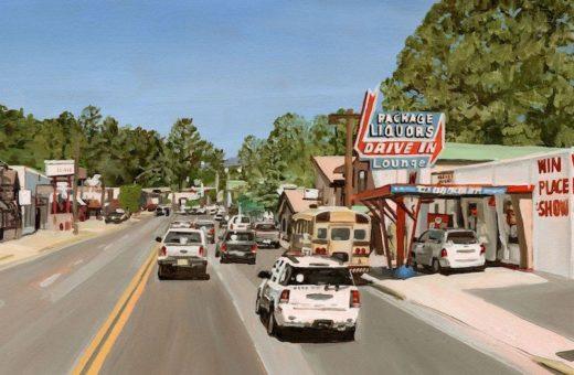 """""""Street View Road Trip"""",  le pennellate morbide di Alice Tye"""