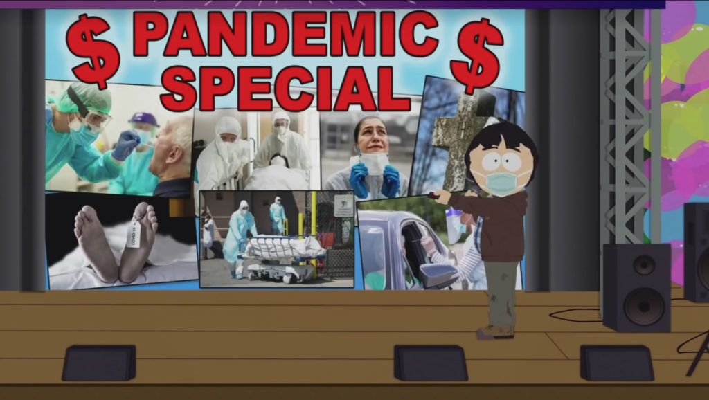 South Park special episode about the pandemic | Collater.al