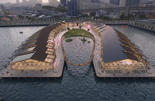 """The Cove"", a new pier for San Francisco"