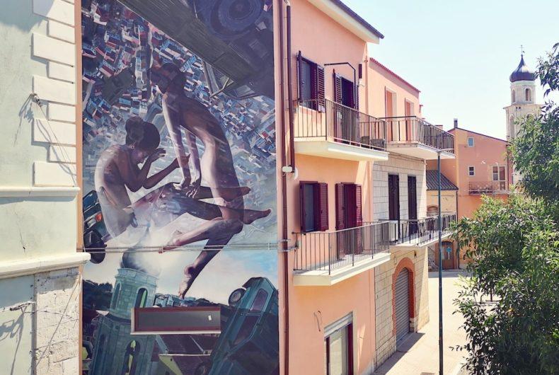 """""""Dualismo"""", l'artwork di Vesod a Santa Croce di Magliano"""