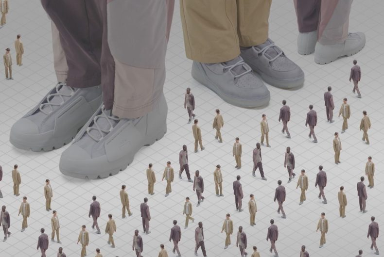 The capsule collection of A-COLD-WALL* and Converse