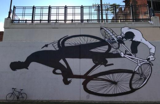 La street art di Alex Senna, fatta di persone e ombre