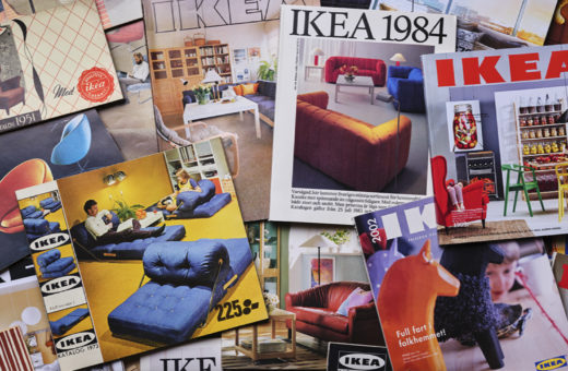 The history of IKEA through its catalogues