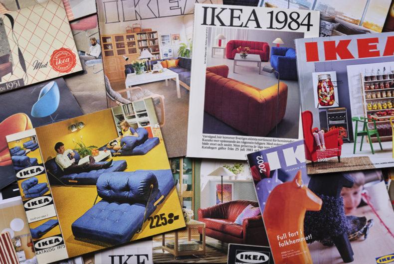 La storia di IKEA attraverso i suoi cataloghi