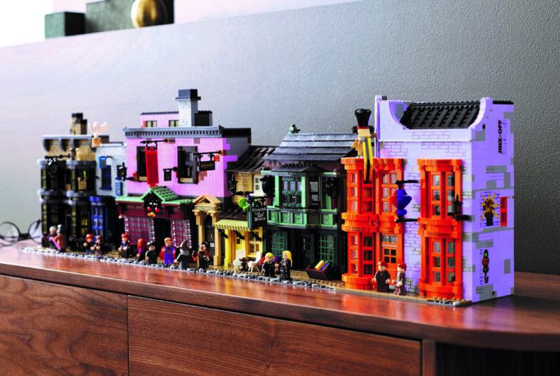 LEGO celebra Harry Potter con il set di Diagon Alley