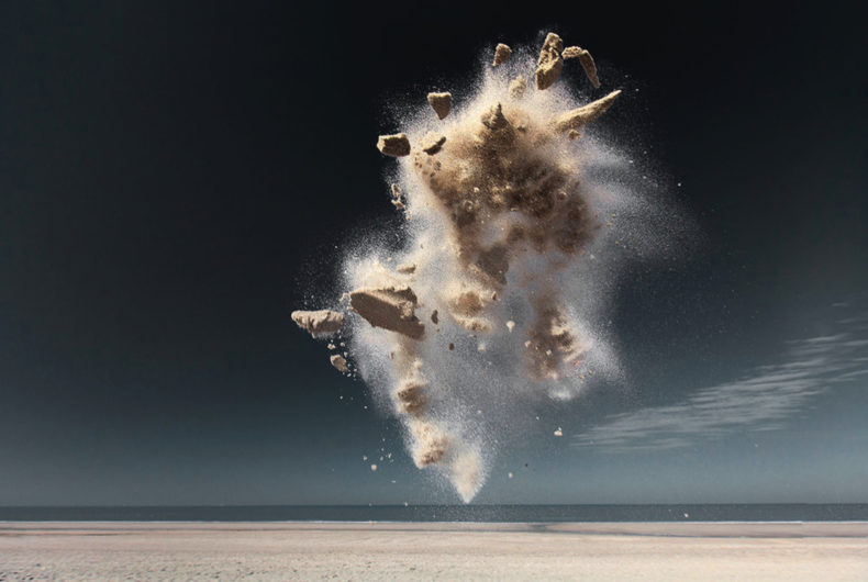 Sand Creatures, the photographic project by Claire Droppert