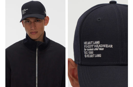 The collaboration between Helmut Lang and New Era