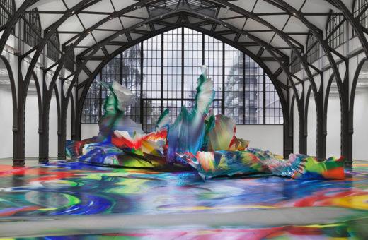 It Wasn't Us, l'opera multicolore di Katharina Grosse