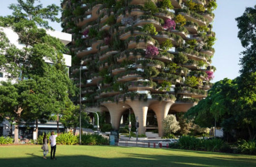 Urban Forest, 30 floors of apartments and nature