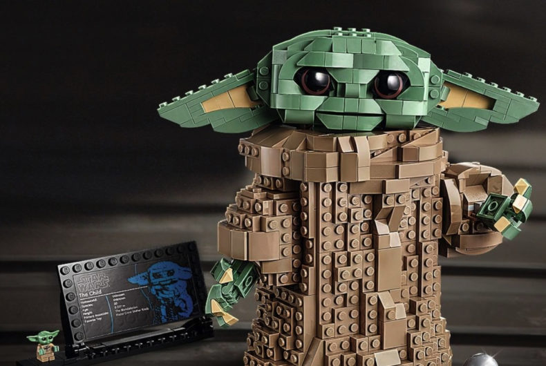 The Child of The Mandalorian by LEGO
