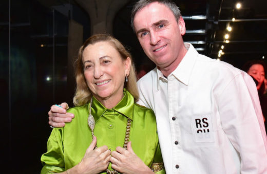 Send a question to Miuccia Prada and Raf Simons