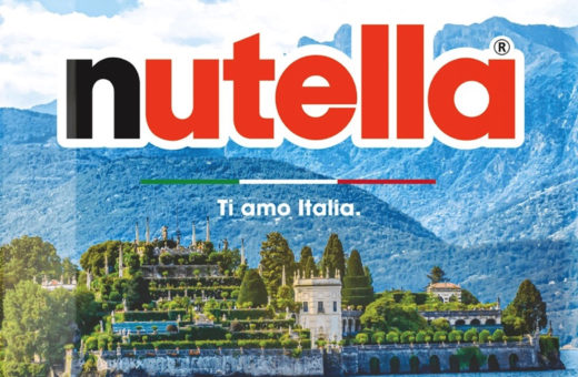 """Ti Amo Italia"", Nutella celebrates the beauty of Italy"