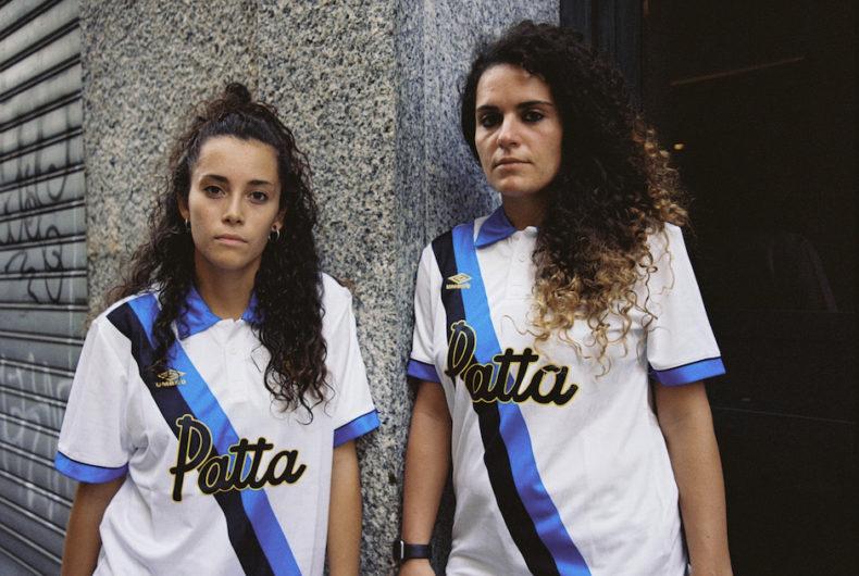 La maglia dell'Inter realizzata da Patta e Umbro