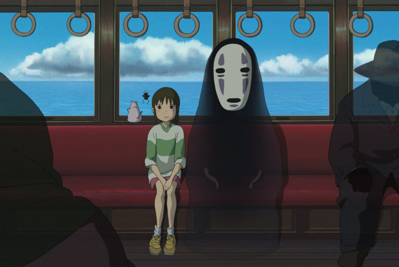 Studio Ghibli has made available 400 images of its most famous films
