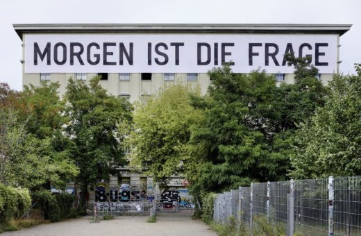 The Berghain becomes an art gallery
