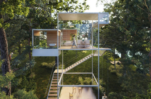 Treehouse Module by Camila Simas and Marcos Franchini