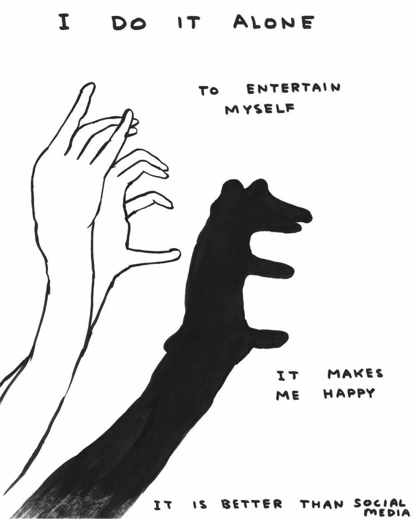 The essential and sarcastic art of David Shrigley | Collater.al