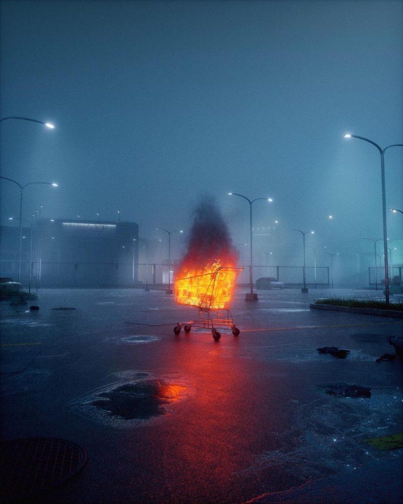 Gli artwork dark del 3d artist Miron Malejki | Collater.al