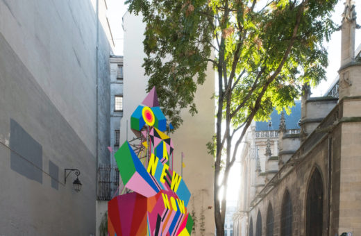 """A new now"", Morag Myerscough's installation in Paris"