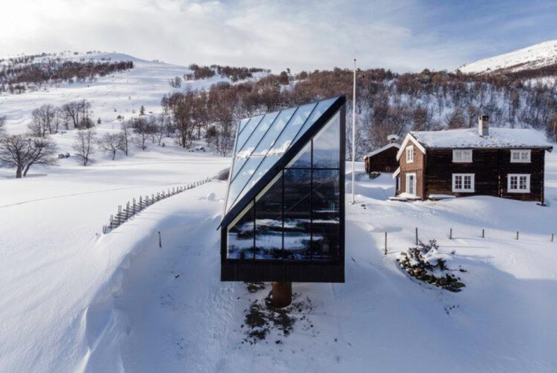 The Diamond, la cabina minimale persa nella Norvegia