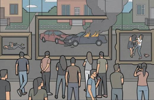 Le contraddizioni della realtà nelle illustrazioni di Anton Gudim