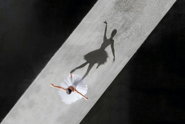 """Ballerine de l'air"", the photographic series by Bradscanvas"