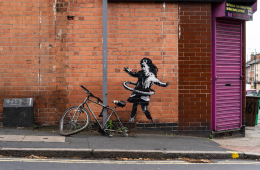 Banksy has claimed the artwork that appeared in Nottingham