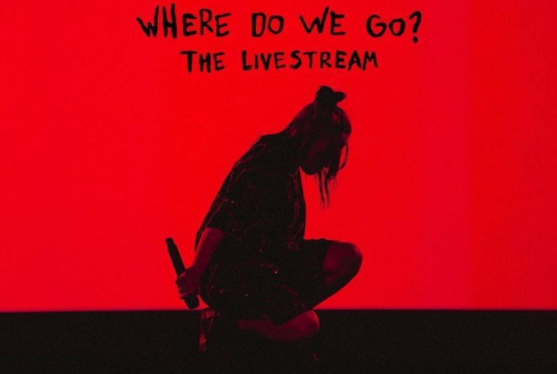 Billie Eilish si esibirà in un concerto in streaming