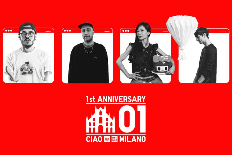 Rivivi le celebrazioni per il primo anno di UNIQLO a Milano