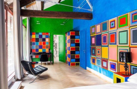 Le 89 camere d'artista di Galleria Vik Milano