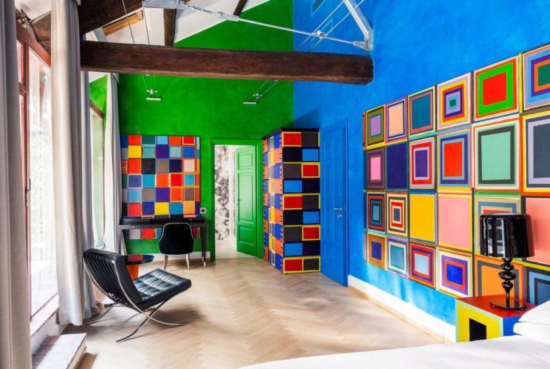 The 89 artist rooms of Galleria Vik Milano