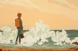 Le retour des vagues, a nostalgic journey into the past