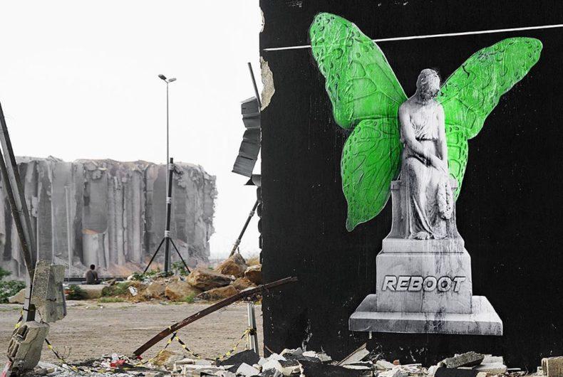 """Reboot"", l'arte di Ludo per le strade di Beirut"