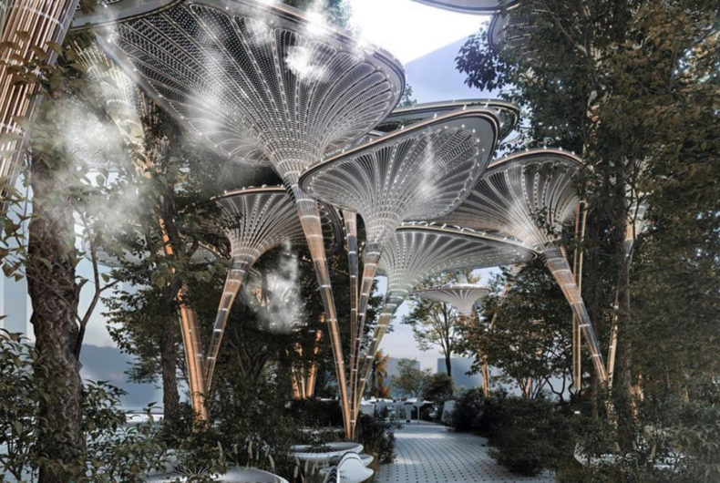 Oasys, un'oasi verde e artificiale per Abu Dhabi