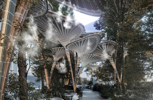 Oasys, a green and artificial oasis for Abu Dhabi